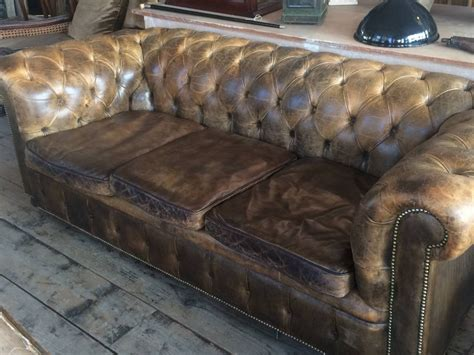 used leather chesterfield sofa used leather chesterfield