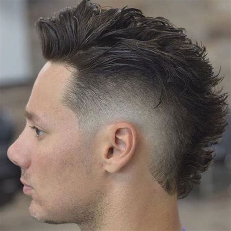 fohawk hairstyle pictures 30 faux hawk fohawk haircuts for men men s hairstyles