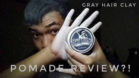 Pomade Suavecito Color Wax Clay Pomade Color Black H Berkualitas review pomade suavecito gray hair clay pomade warna color wax indonesia