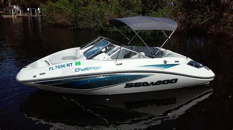 sea doo boat letters sea doo challenger boat for sale from usa