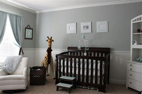 Baby Boy Nursery Curtains Gray Blue Brown Baby Boy Nursery Baby Furniture Baby Boy And The