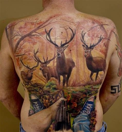 cool hunting tattoos 58 best images about tattoos on coon