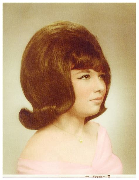 1960s Hairstyle by Hair Was Big And Bigger In The 1960s