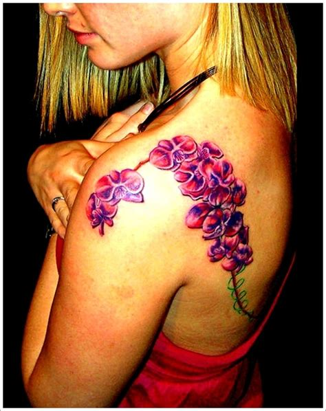 orchid sleeve tattoo designs 30 and beautiful orchid designs