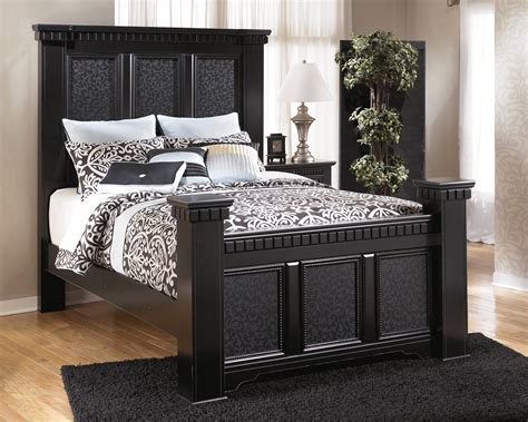 mansion bed ashley cavallino mansion bedroom set b291 bedroom furniture