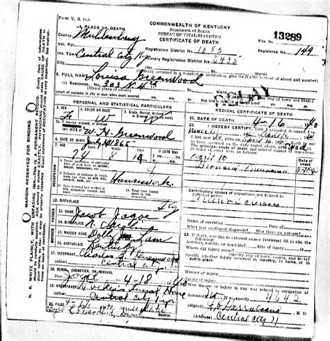 Kentucky Vital Records Birth Certificate Lovely Photograph Of Kentucky Birth Certificate Business Cards And Resume