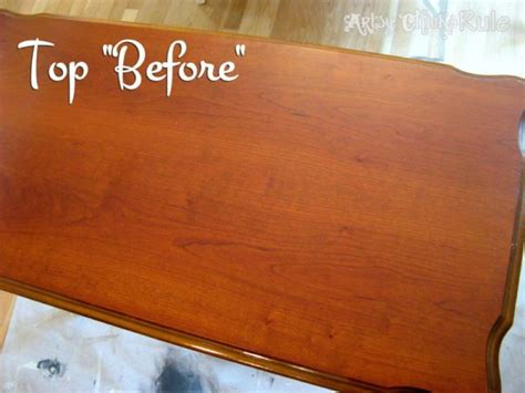 Update Old Wood Stained Furniture Easily Amp Quickly