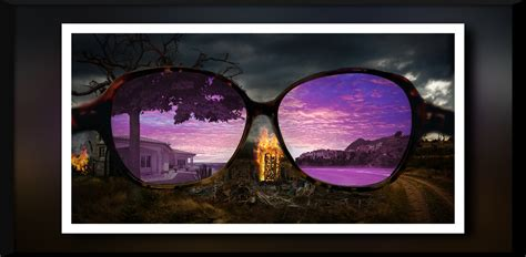 colored glasses spiritual lenses mystery of the iniquity
