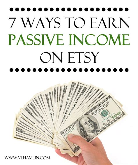 how to make money earning passive income with your spare time from home books 7 ways to earn passive income on etsy food design
