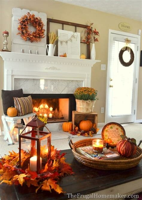 how to make fall decorations at home fall living room decor photo album amazows amazing tip for home design studio or home decoration