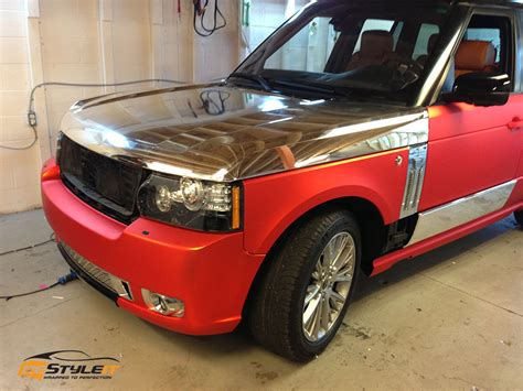 matte range rover matte chrome range rover sport vehicle customization