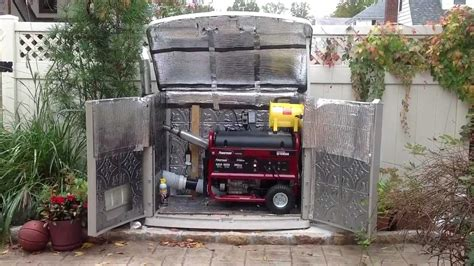 beautiful home depot generators on generator enclosure