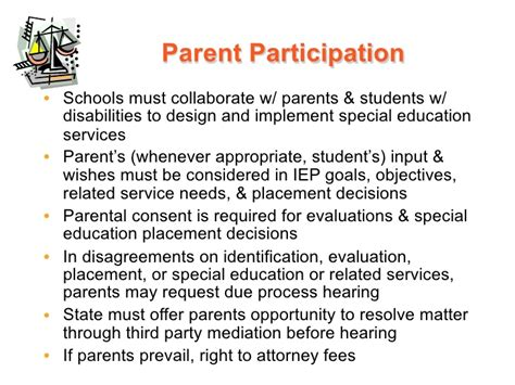 Parent Letter Requesting Special Education Evaluation Introduction Legislation And Litigation Ppt With Notes