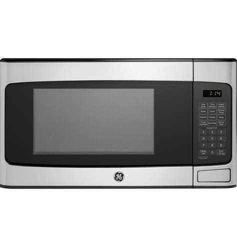 Stainless Steel Countertop Microwave Oven by Ge 1 1 Cu Ft Countertop Microwave Oven Stainless Steel