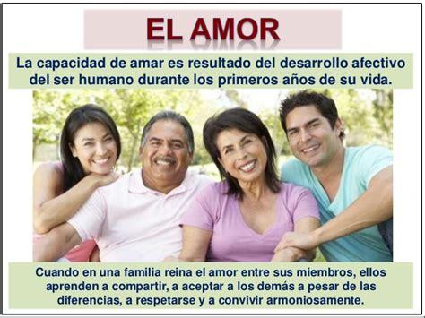 la familia los amigos el amor y la vida palabras el amor en la familia