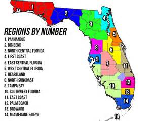 regions of florida map changes coming to our regional coverage