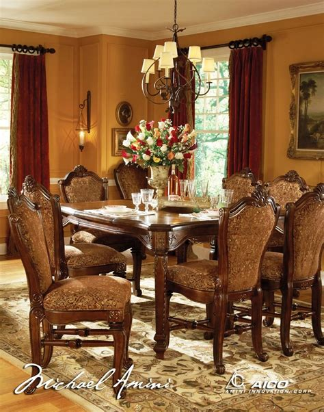 aico dining room furniture aico windsor court counter height dining set 70000 54