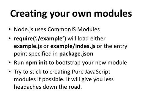 node js require tutorial intro to node js v1