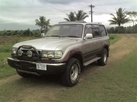 1991 toyota land cruiser information and photos momentcar krishan s 1991 toyota land cruiser in suva