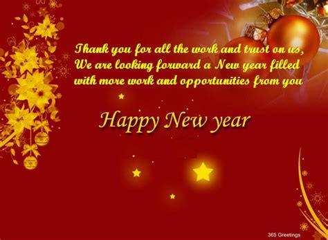 new year greetings message for business partners best