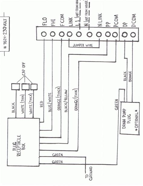 wiring diagram for well 230 volt wiring wiring