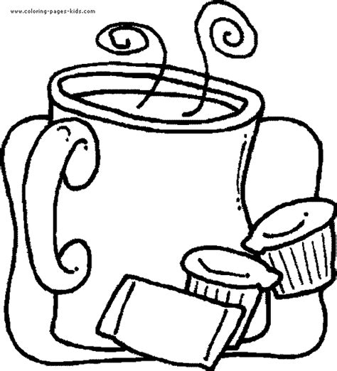 coloring pages of food and drinks free coloring pages of food and drink