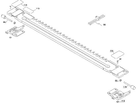 buy porter cable 77240 24 inch omnijig dovetail jig