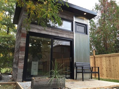 backyard studio designs backyard modern studio modern shed toronto by