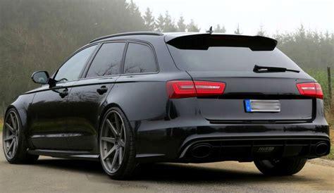 Audi A6 C7 Avant by Audi A6 C7 Avant S Line S6 Rs6 Look Spoiler From 2011