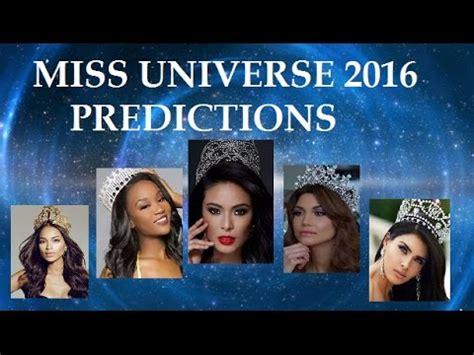 miss universe 2016 top 10 november