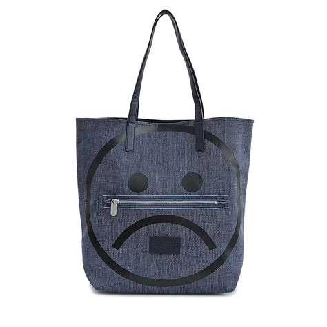 Marc Two Pocket Handbag by Marc By Marc Unsmiley Tote Bag In Blue Lyst
