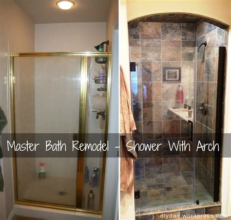 Diy Bathrooms Ideas by Master Bath Remodel Shower Phase Diy Dad