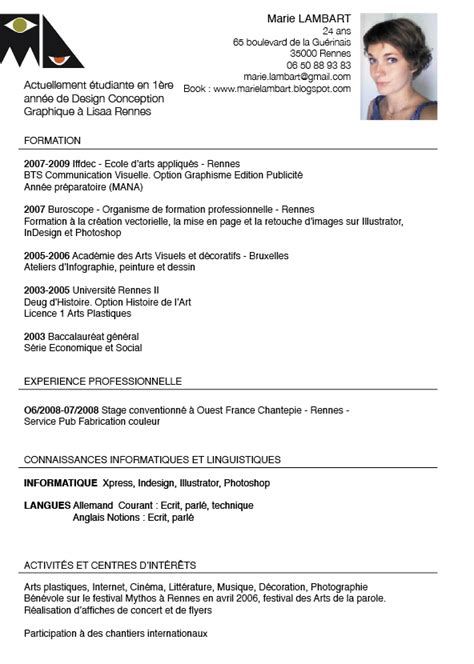 modele cv humoristique document