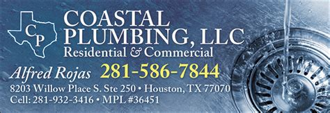 Coastal Plumbing by Christians In Business Coastal Plumbing Llc Details