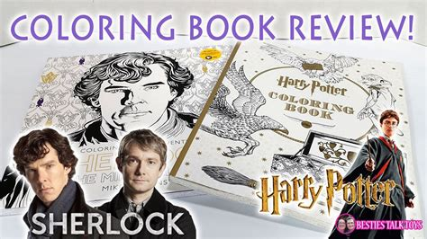 sherlock book report harry potter sherlock coloring book review