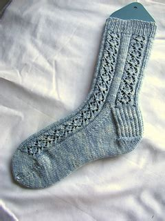 40486 Brocade Lace Knit ravelry king charles lacy brocade socks pattern by allison sarnoff