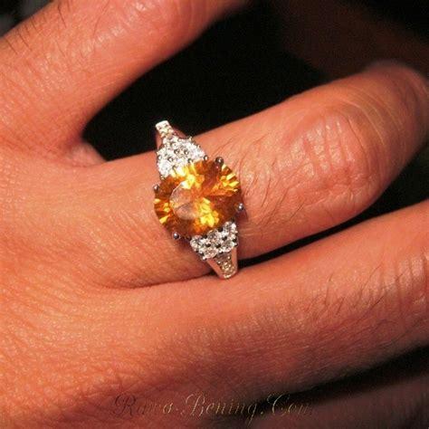 Liontin Wanita Batu Yellow Citrine cincin silver batu permata yellow citrine