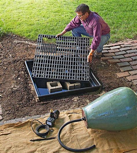 Gartenbrunnen Selber Bauen Anleitung