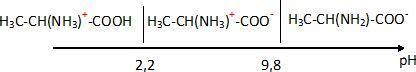 tracer un diagramme de prédominance acide a amins alanine formation d un dipeptide
