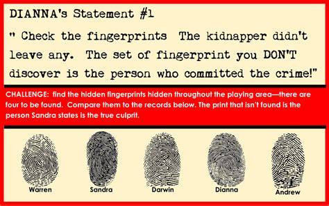 printable detective games printable detective party game for kids