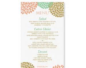 menu word template menu template word