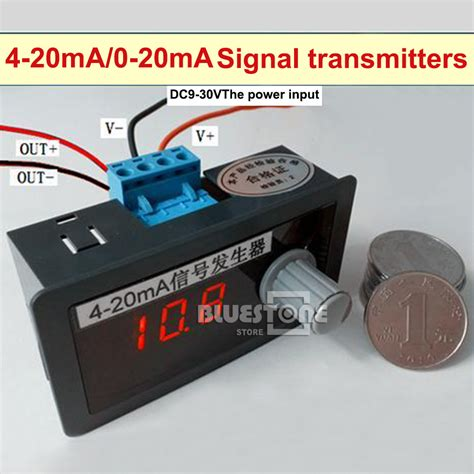 4 20ma Signal Source Constant Current 0 01ma Dc 12v 24v 1 dc 12v 24v 4 20ma signal source signal generator constant current source 0 01ma ebay