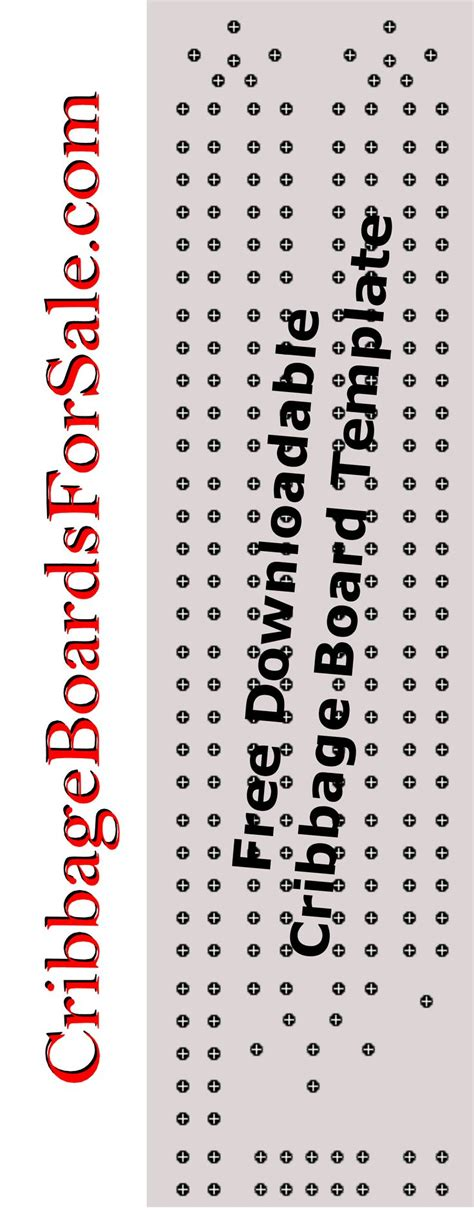 printable cribbage board template save money on your next cribbage board wood craft project