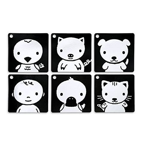 printable baby flash cards black white black white red infant stim clip along high contrast