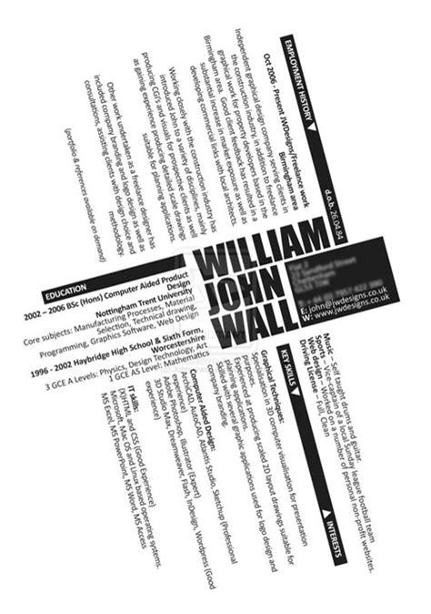 Contoh Curriculum Vitae ( CV ) Yang Unik. Untuk Inspirasi