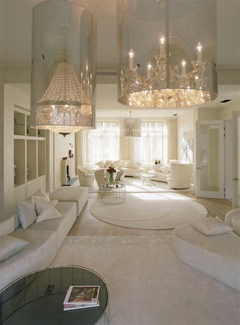 White Home Interior Finest Design Ultra Luxury Living Room White Interior Decosee