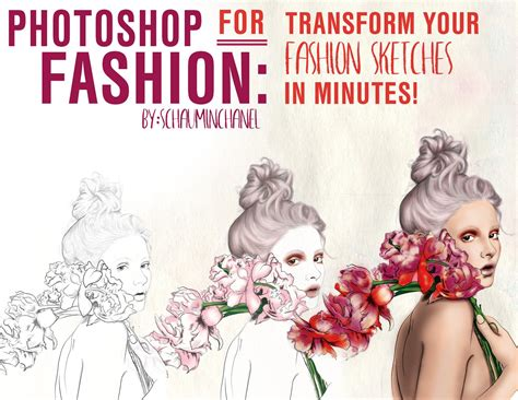 sketchbook or photoshop photoshop for fashion transform your fashion