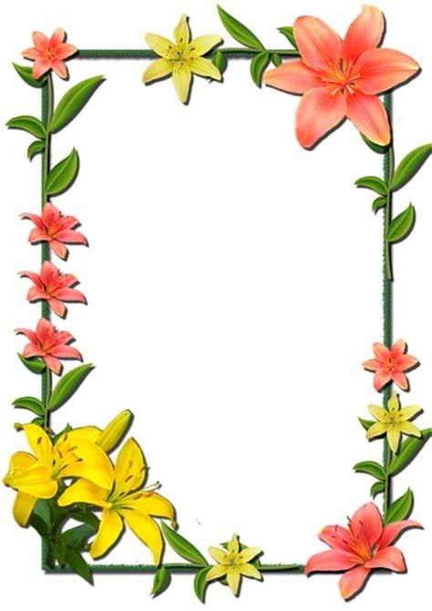 frame design flower 12 photoshop flowers frames
