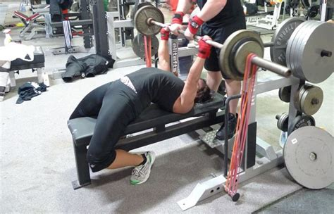 benching with bands best equipment to help your bench press
