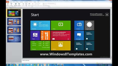 presentation templates for windows 7 windows8templates easily design windows 8 style apps in
